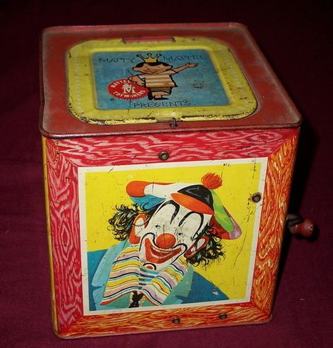 Antique Jack in the Box - 50 Years Old! | Antiques & Vintage Collectibles | Scoop.it