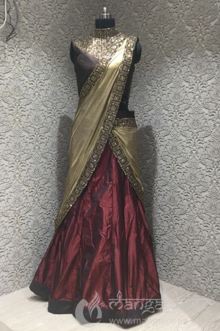 http://www.mangaldeep.co.in/lehengas/amazing-look-in-silk-readymade-designer-partywear-lehenga-saree-7817 Call us for queries on +919377222211 (Whatsapp Available) (y) :)