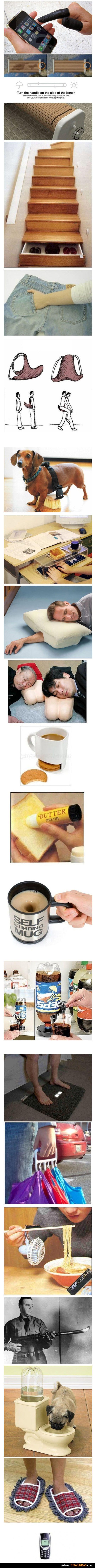 Los mejores inventos del mundo.