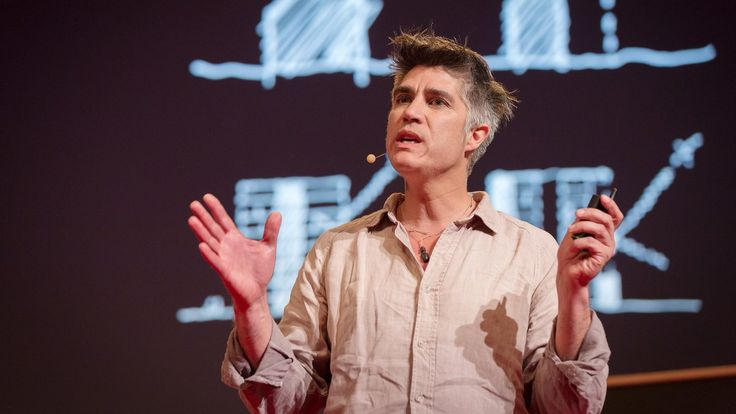 Alejandro Aravena: 1.  Build 1/2 a house per family (room for expansion) in multifamily dwellings.  2.  Thick exterior walled office building to house services and provide protection from solar radiation (atriums are the answer).  3.  Tsunami protection as urban design (participatory design is about finding the right question).  4.  The currency of cities is not money but coordination.
