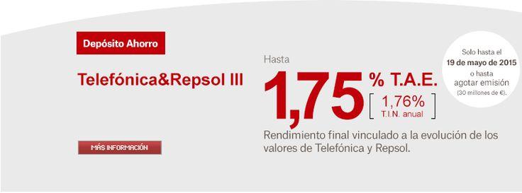 Depósito Ahorro Telefónica&Repsol III de Banco Popular