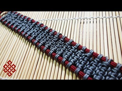 How to Make the Solomon's Ladder Paracord Bracelet Tutorial - YouTube