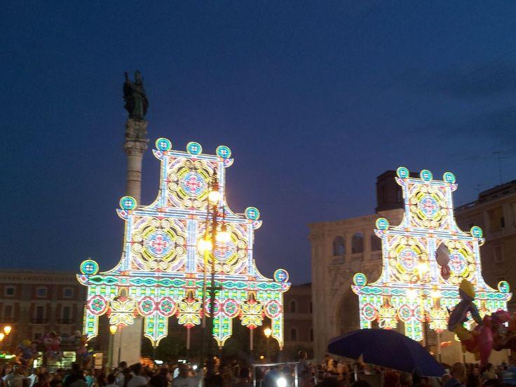 Festa di Sant'Oronzo - Lecce 26 agosto 2013 www.spizzicainsalento.com