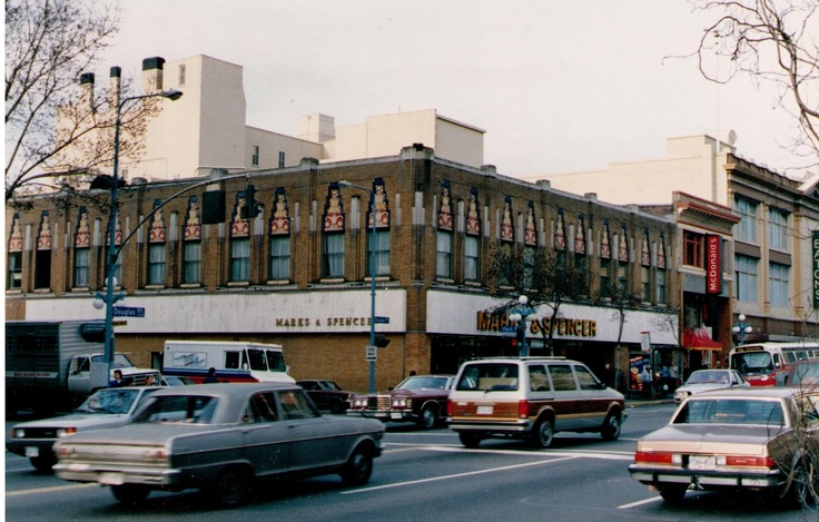 Marks and Spencer store in Victoria in 1988