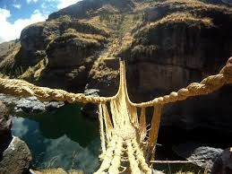 Image result for rope bridge