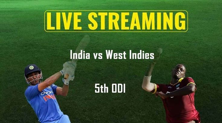 IND vs WI 5th ODI Live Streaming Match Preview Today of india tour of west indies on date 06 july 2017 which tv channels broadcast India vs West Indies game