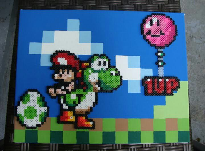 Awesome Yoshi S Island Perler Bead Art Perler And Other