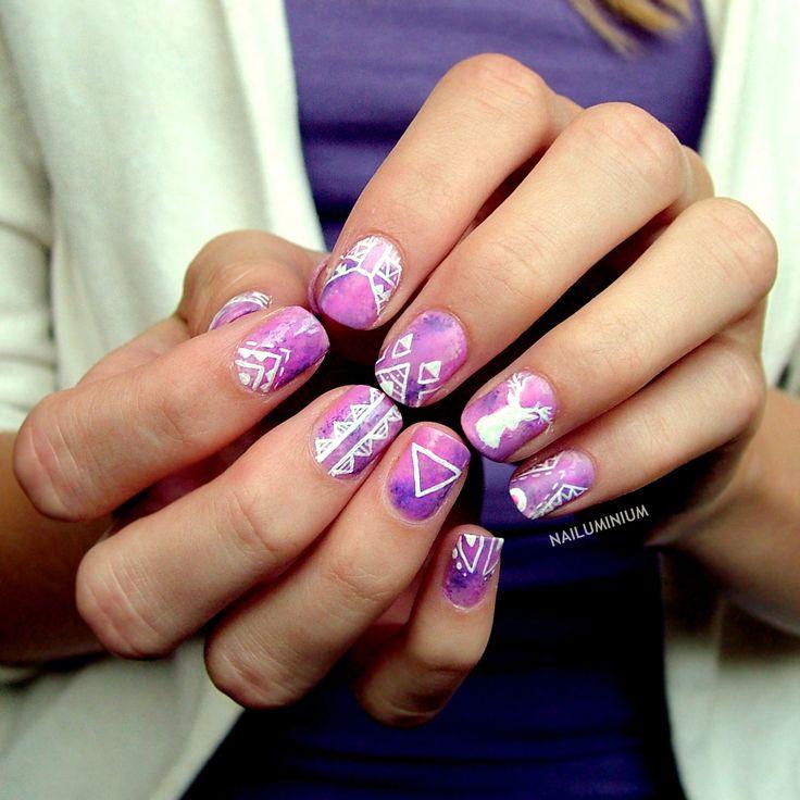 hipster nails pinterest - photo #8
