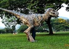 Animatronic T. Rex costume