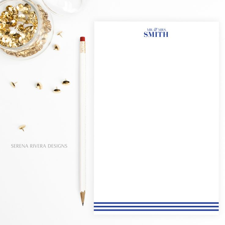 Customized writing paper gifts