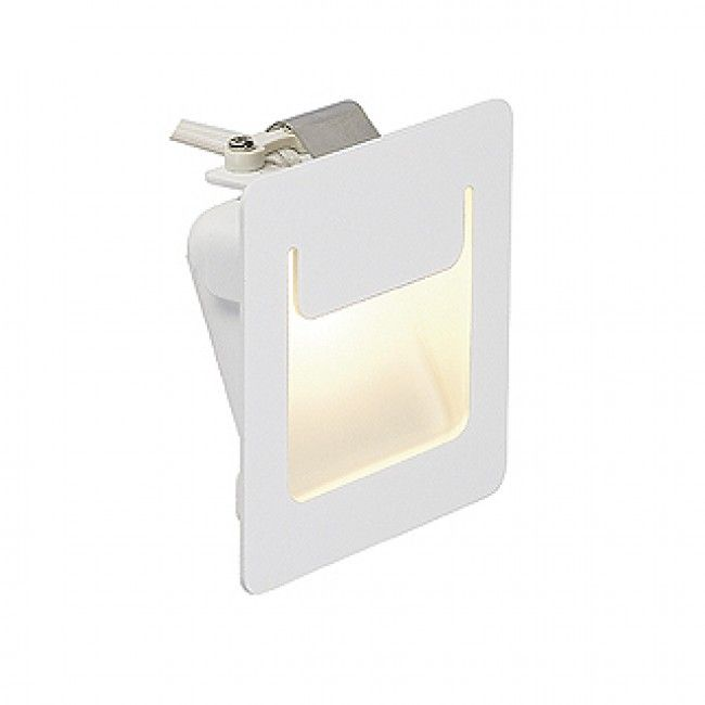 Downunder Pure recessed luminaire, square, white, 3,5W LED warmwhite, 80x80mm…