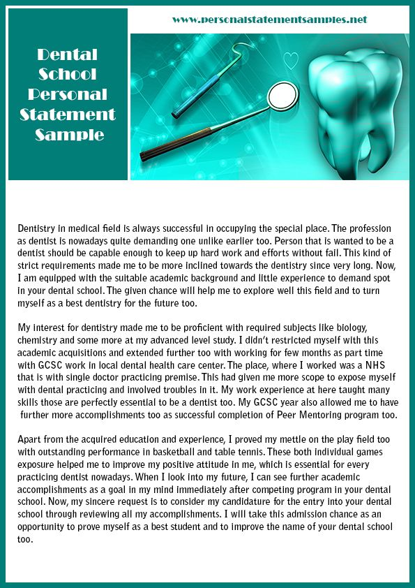 personal statement dental school If you want to get flawless dental personal statement, click here and learn more about help we can provide.