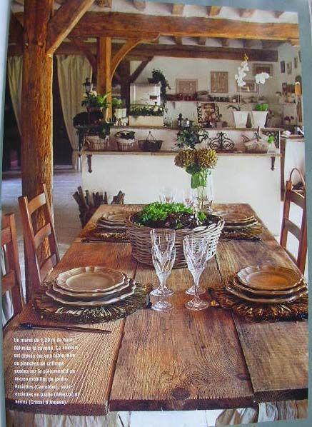 51 best cote sud images on pinterest cottages country for Magazine de maison