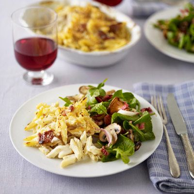 Grown-Up Mac and Cheese.  Don't think I've met too many Mac and Cheese dishes I didn't like  ;)