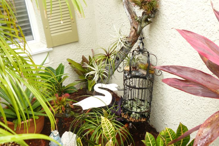 I added AIR plants to this beach bark..