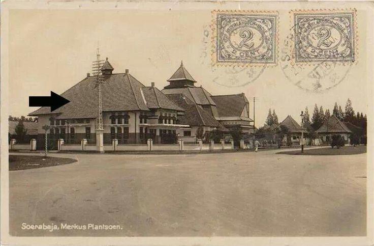 Rumah pojok Taman Bintoro -Imam Bonjol th 1933