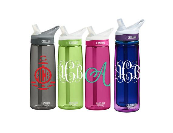 Personalized CamelBak 0.75 Eddy or 0.6 L Insulated CamelBak Eddy Personalized Monogram Water Bottle Sports bottles Name water bottle Gift
