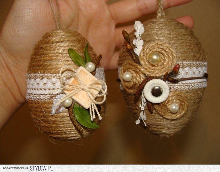 Пасхальные яйца сделаны вручную. на Stylowi.pl