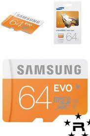 Samsung+64GB+Micro+SD+SDXC+Flash+TF+Memory+Card+Class+10+For+Android+Camera+Smart+Phone