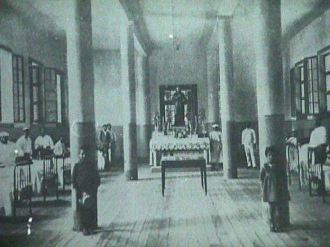 Interior del Hospital San Juan de Dios