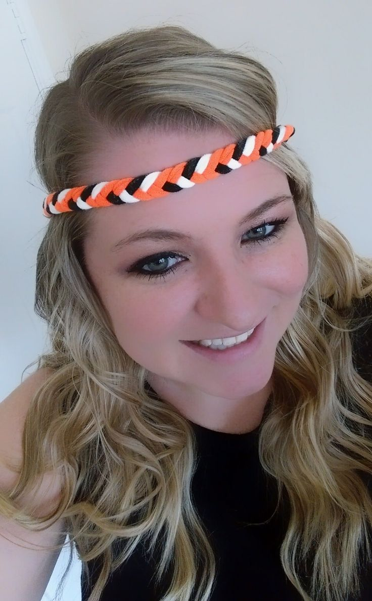 Oklahoma State University T-Shirt Fishtail Game Day Headband Perfect for OSU Game Day, Baby Shower Gift, and Birthday Gifts! by petesboutique on Etsy
