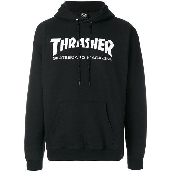 Thrasher hoodie ($108) ❤ liked on Polyvore featuring men's fashion, men's  clothing,