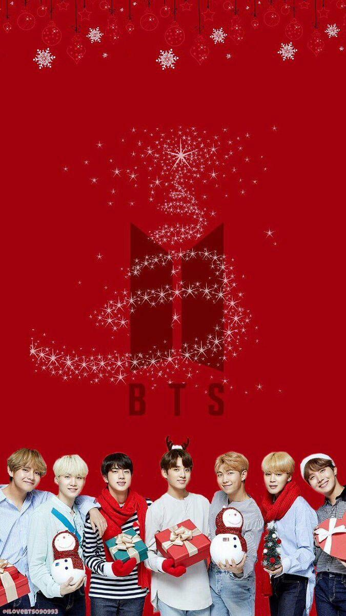 Bts Merry Christmas Wallpaper Bts Papel De Parede Imagens Bts Fotos De Natal