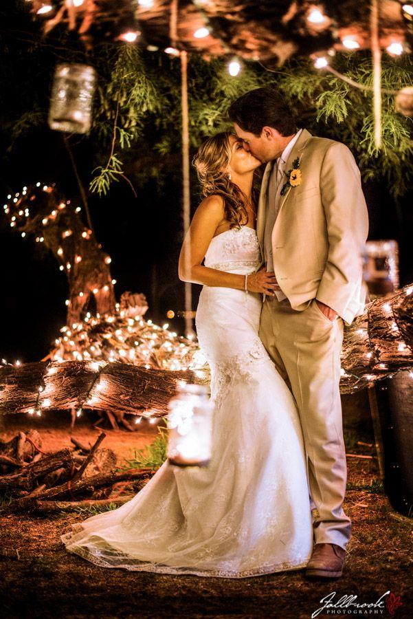 Great Idea for wedding lighting- Candles in Mason Jars, christmas lights. Yuma, Arizona wedding photographers