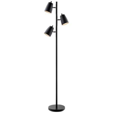Lite Source Ronnie Black 3 Light Tree Floor Lamp 42g07 Lamps Plus Floor Lamp Tree Floor Lamp Lamp
