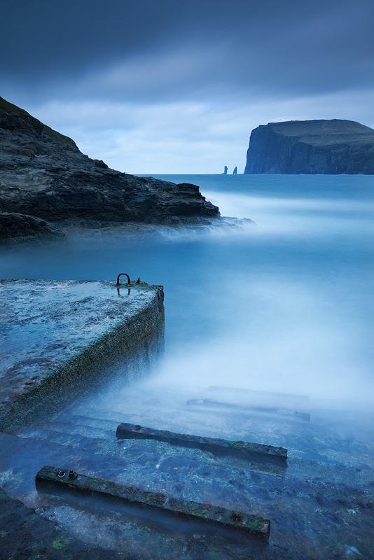 Pasos de la bruja, Streymoy, Islas Feroe.