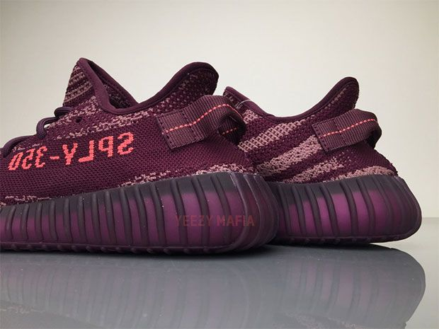"promo code 01626 43f4a A brand new colorway of the adidas Yeezy Boost 350 v2 has surfaced – a  daring ""Red Night"" colorway that adds in Chalk Purple and Chalk Pink that fits  right ..."