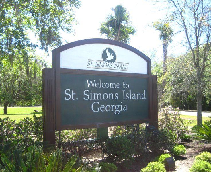 St Simons Island Ga.