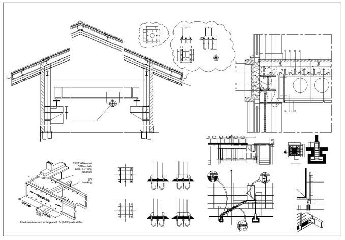 Best 50 Steel Structure Details CAD Drawings Download