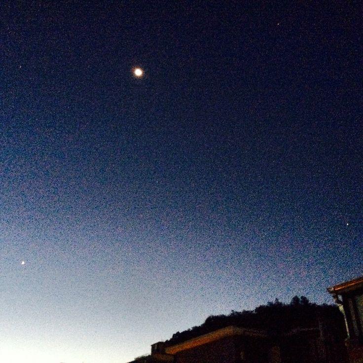 2015/09/08 서울 새벽 하늘