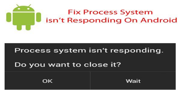 fix process system isn't responding
