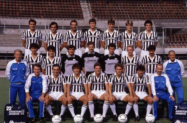 JUVENTUS CAMPIONE 1986