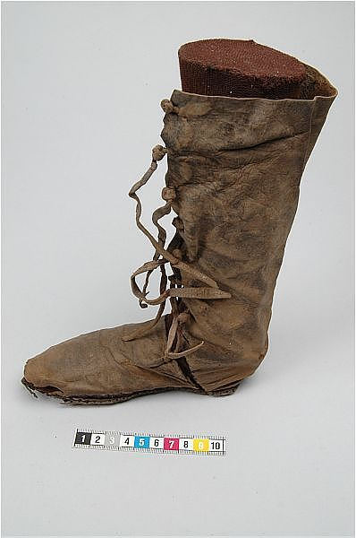 11th century Rus boot. Perfect inspiration for a character in my novel. #ThePurestBlood