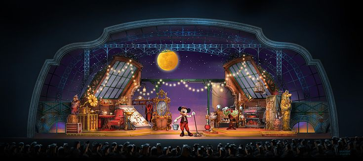 'Mickey and the Magician' Coming to Disneyland Paris
