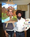 Bob Ross and his Happy Little Tree Costume - 2012 Halloween Costume Contest