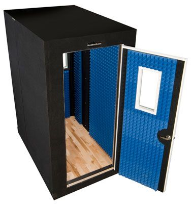 Our double walled Platinum Series VocalBooth is recommended for recording and sound isolation applications with significant exterior sound control issues.