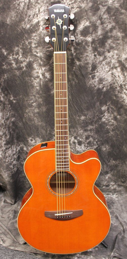 Yamaha Cpx 600 Vintage Tint Acoustic Electric Guitar Yamahaguitars Yamaha Acoustic Guitar Acoustic Electric Yamaha Acoustic