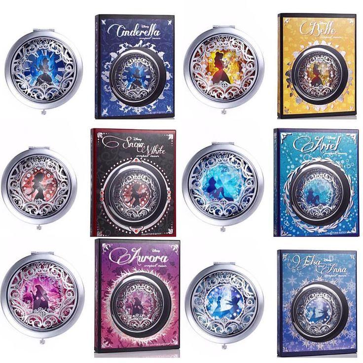 Disney x Sephora Princess compact mirrors