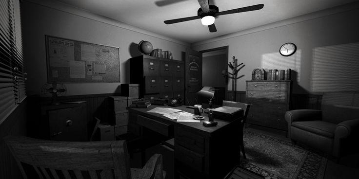 Detective S Office Bradley Robinson The California
