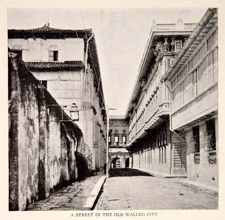 A glimpse of the Past: Fort Santiago, Intramuros Manila