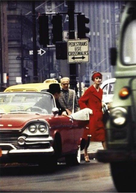 Anne St. Marie in New York, 1963. Photo: William Klein for Vogue.