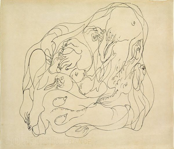 Andre Masson, Automatic Drawing
