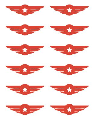 Free Airplane Birthday Party Printables
