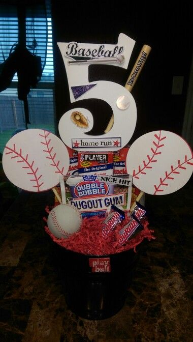 ⚾Baseball Centerpiece⚾ By Me