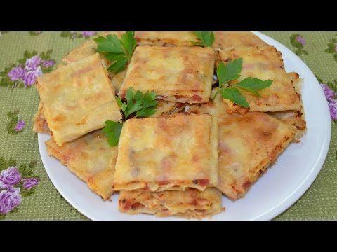 Жареный лаваш с колбасой и сыром - Простые рецепты Овкусе.ру