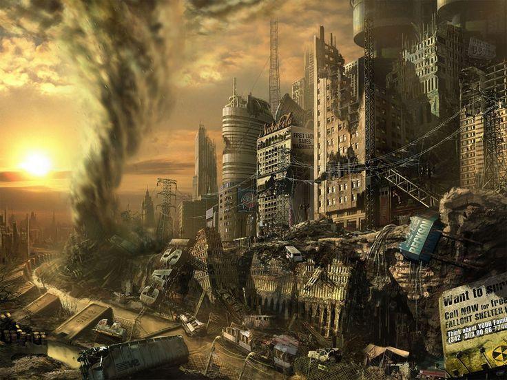 Imagenes de Ciudades destruidas- Mundo Post-apocaliptico